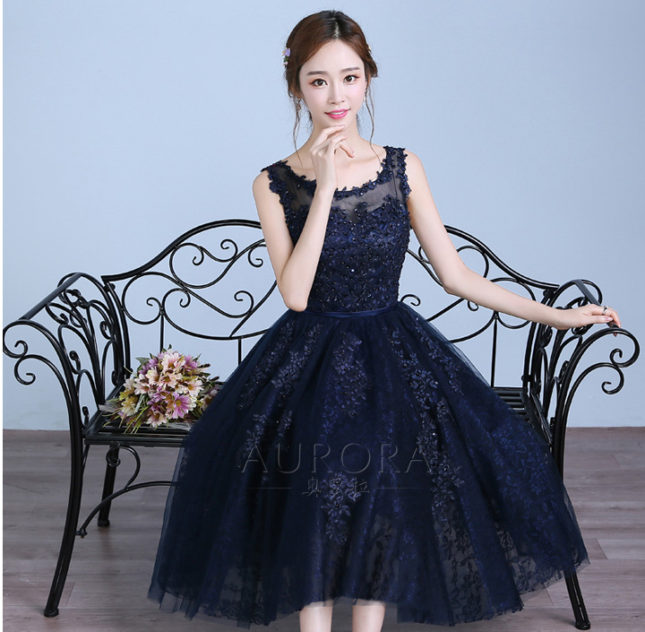 231e404153f4c ダントツで可愛いネイビーの結婚式ワンピースドレスの魅力に迫る♡人気のネイビードレスTOP10
