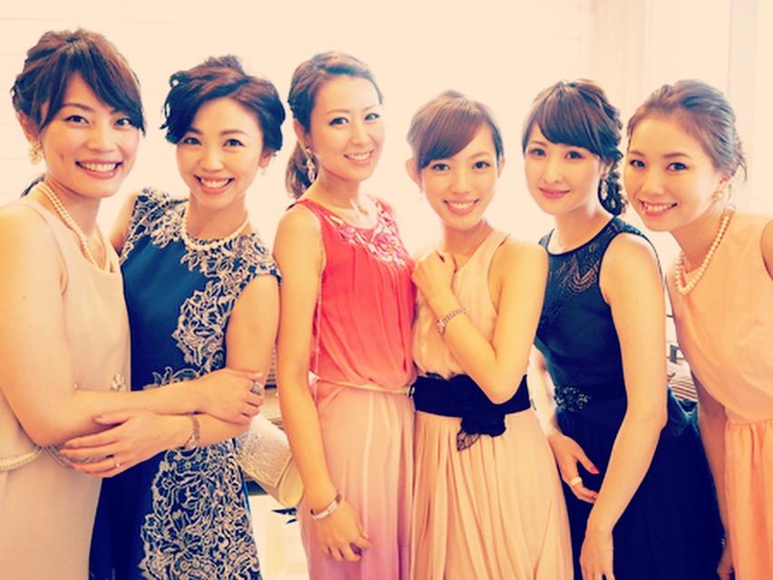 ドレス 結婚式 参列